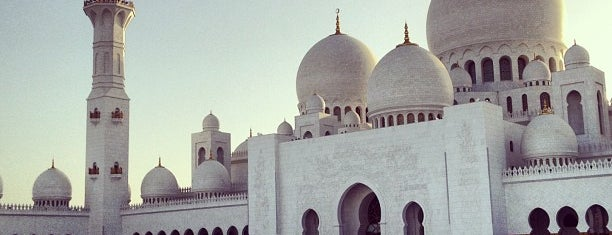 Sheikh Zayed Grand Mosque is one of DXB.