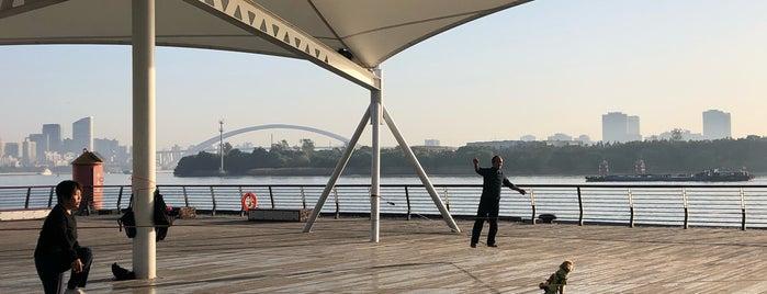 Xuhui Riverside Park is one of Shanghai.