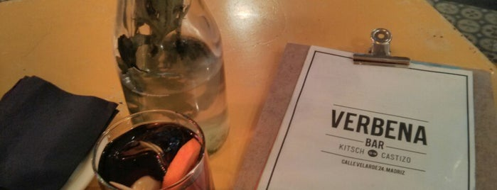 Verbena Bar is one of Tapeo.