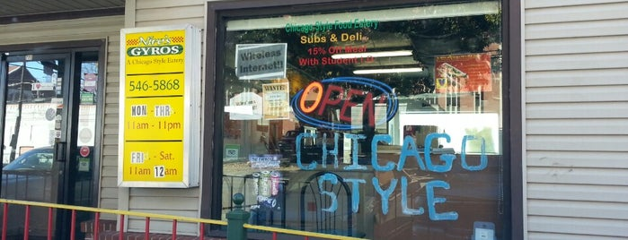 Niro's Gyros is one of Restaurant To Do List.