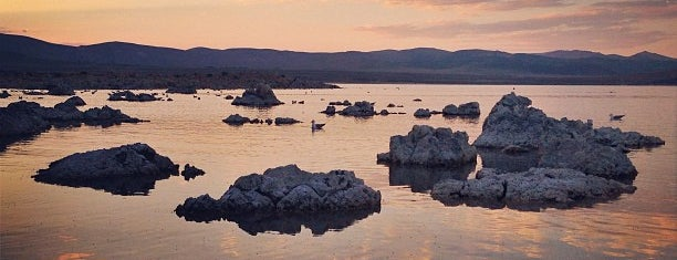 Mono Lake is one of Far Far Away.
