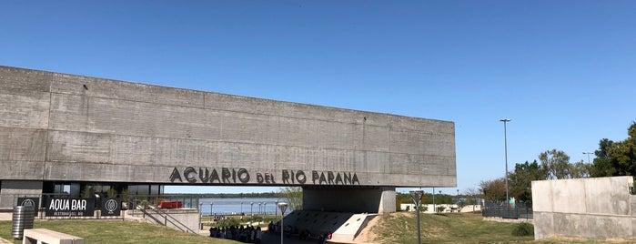 Acuario del Río Paraná is one of Rosario con niños.