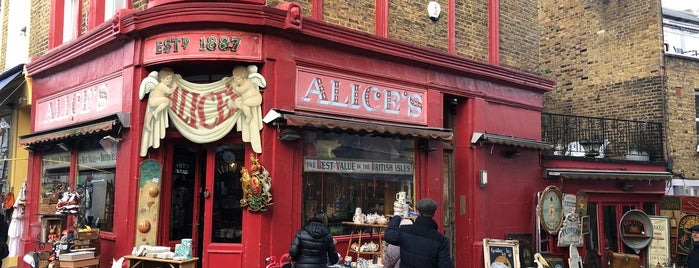Alice's is one of London, UK (attractions).
