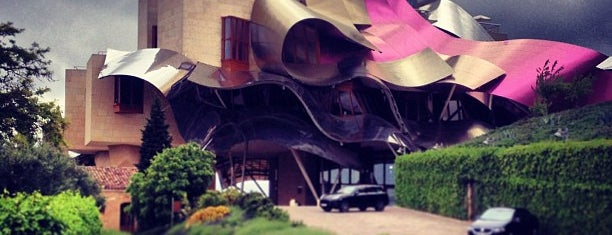Hotel Marqués de Riscal is one of Hoteles.