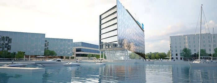 Radisson Blu Riverside Hotel is one of 4sq SUs Sweden 님이 좋아한 장소.