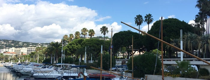 Port Pierre Canto is one of Cannes.