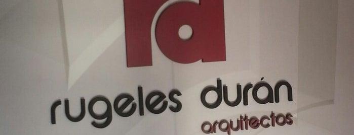 Rugeles Duran Arquitectos is one of Aquí Se debería Poder Rayar las Paredes.