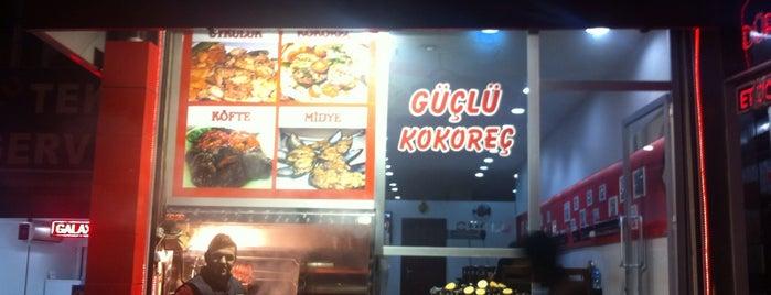 güçlü kokoreç is one of Istanbul.