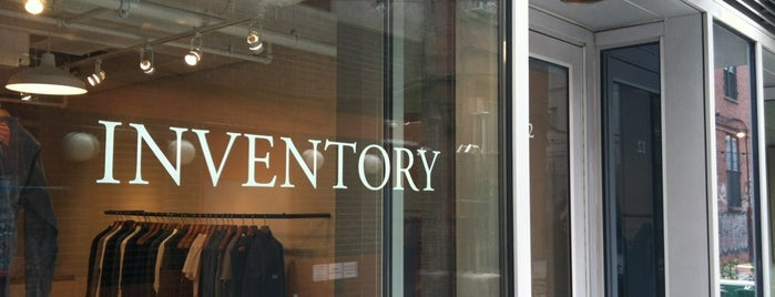 Inventory is one of New York Shops.