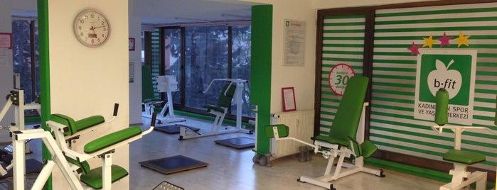 B-Fit Circuit Training & Fitness Center is one of İstanbul Etiket Bonus Mekanları Anadolu Yakası.