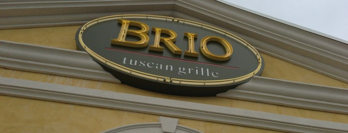 Brio Tuscan Grille is one of Favorite Restaurants!.
