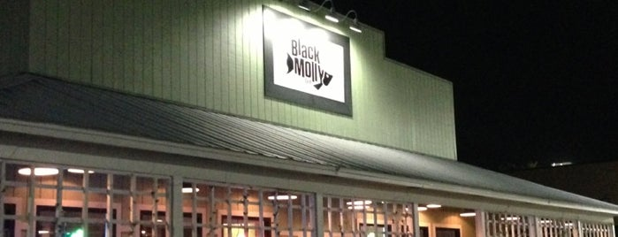 The Black Molly Grill is one of St Augustine Florida.