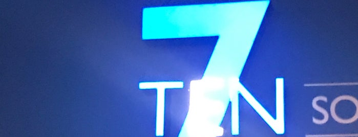 7 Ten Social Upscale Bowling & Lounge is one of X.