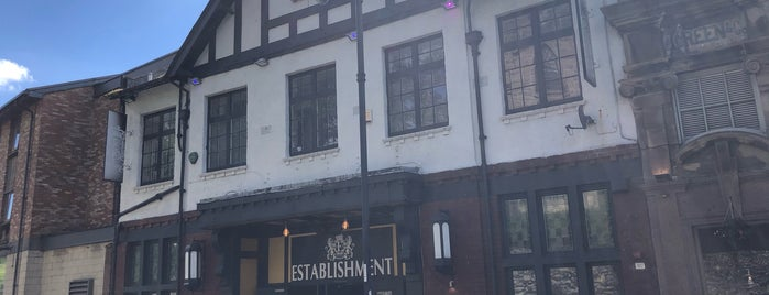 Establishment is one of Fulham Away Match Pubs.