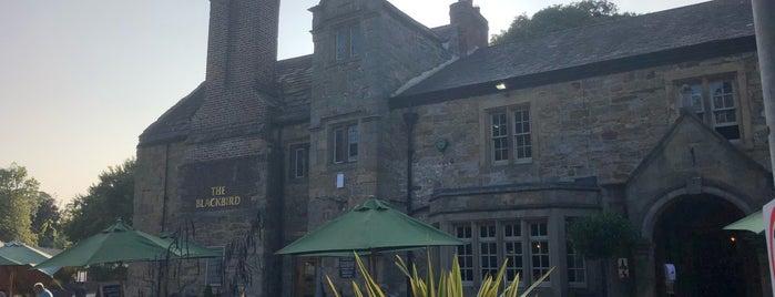 The Blackbird Inn is one of Good Beer Pubs.