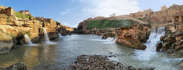 Shushtar Historical Hydraulic System | آبشارها و آسیابهای آبی شوشتر is one of to do in iran.