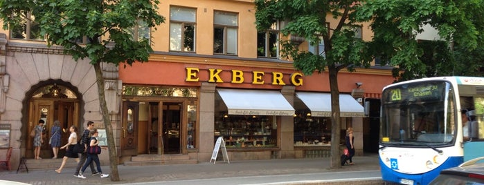 Ekberg is one of Lieux qui ont plu à Clarissa.