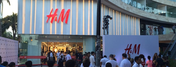 H&M is one of Mexico.