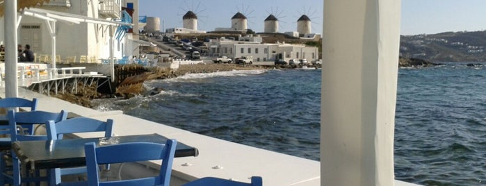 Veranda is one of Mykonos.
