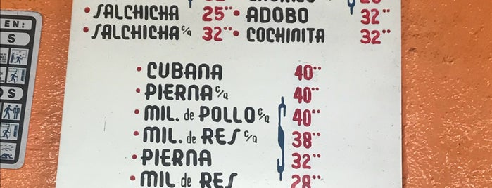 "Torteria ""El Rey"" is one of สถานที่ที่ Francisco ถูกใจ."