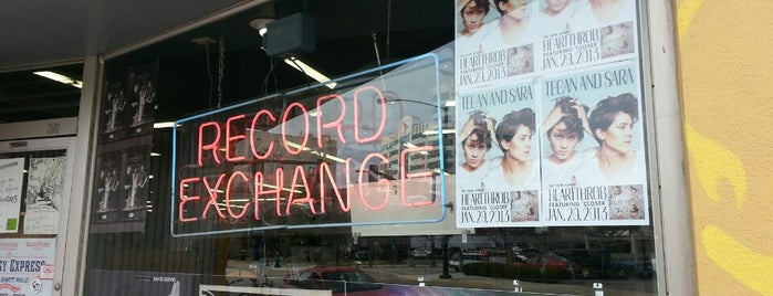 The Record Exchange is one of My Boise To Do List.