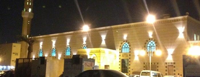 جامع الشيخ حمدان البلوي is one of Lugares favoritos de Eman.