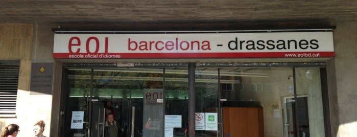 Escola Oficial d'Idiomes is one of Barcelona.