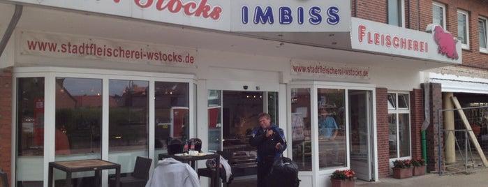 Stocks (Imbiss & Fleischerei) is one of Orte, die Kai gefallen.