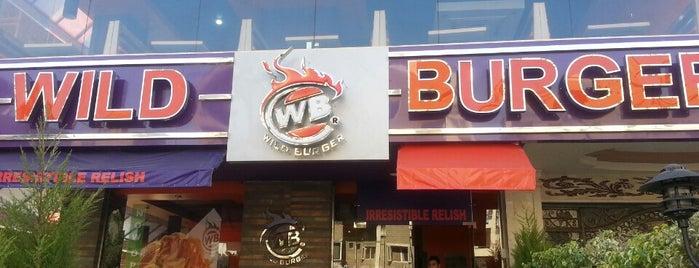 Wild Burger is one of Tempat yang Disimpan Ahmed.