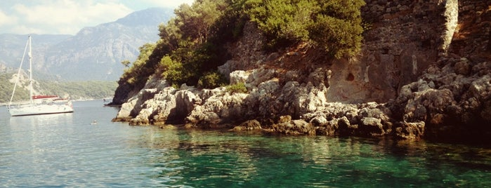St Nicolas Island is one of Fethiye.