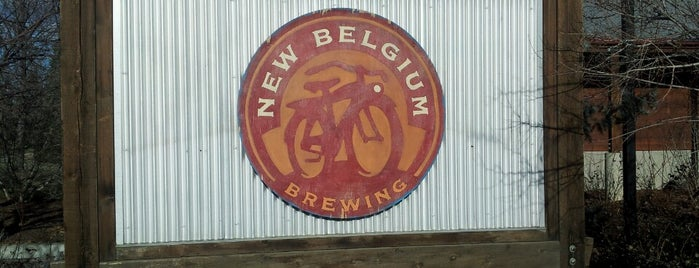 New Belgium Brewing is one of Breweries in the USA I want to visit.