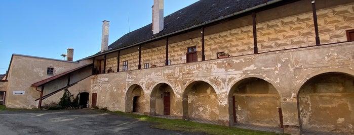 Zámek Rataje nad Sázavou is one of Poklady CZ.