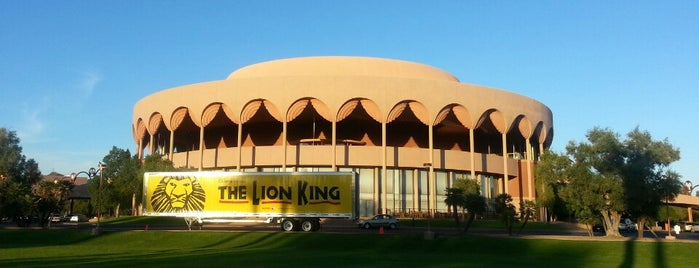 ASU Gammage is one of Lugares favoritos de Michael.