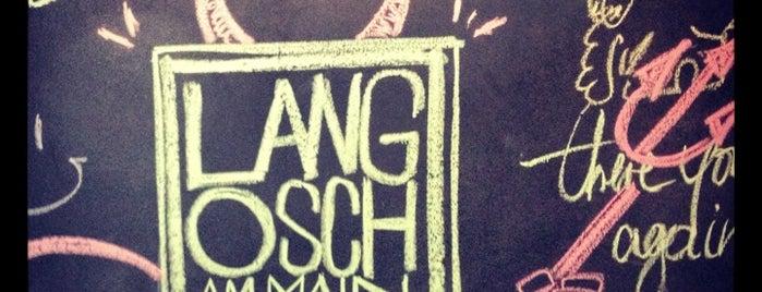 Langosch am Main is one of Frankfurt Restaurant.