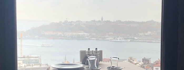 Galata Kulesi Haveran Restaurant is one of Turky.