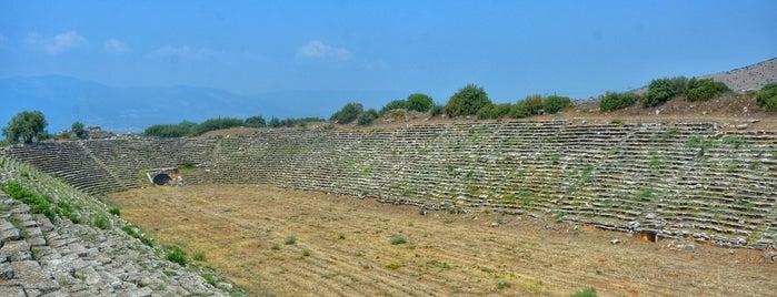 Afrodisias Stadium is one of Orte, die Han gefallen.