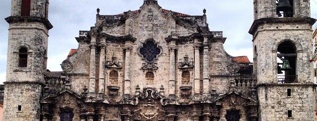 Catedral de la Virgen María de la Concepción Inmaculada (Catedral de San Cristóbal) is one of Ciudad de La Habana, Cuba.