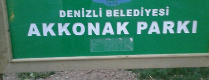 Akkonak Parkı is one of rutinler.