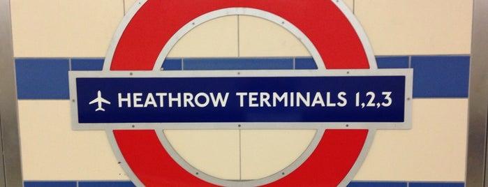 Aeropuerto de Londres-Heathrow (LHR) is one of Skyfall.