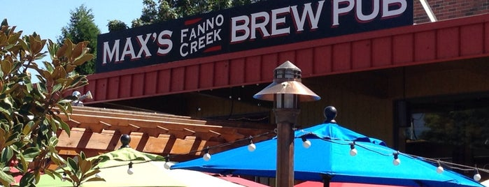 Max's Fanno Creek Brew Pub is one of Oregon Brewpubs.