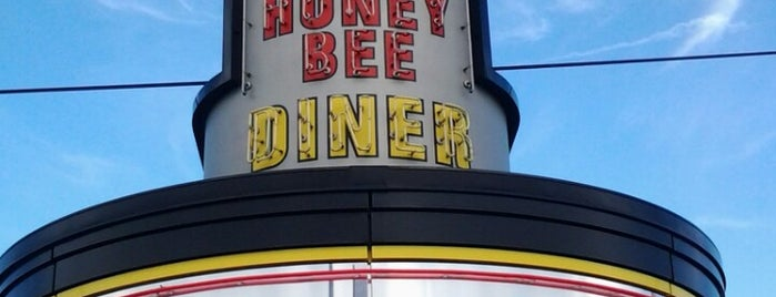 Honey Bee Diner is one of Dave 님이 저장한 장소.