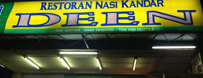 Deen Nasi Kandar is one of Guide to Kuala Lumpur's best spots.