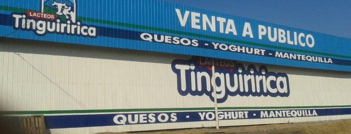 Cafeteria Lacteos Tinguiririca is one of Rodrigo : понравившиеся места.