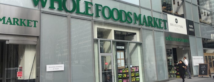 Whole Foods Market is one of NYC Delis.