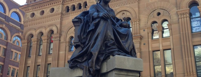 Queen Victoria's Statue is one of Sydney Sightseeing.