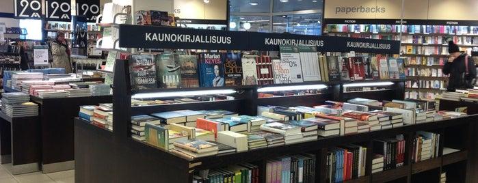 Akateeminen Kirjakauppa is one of Lugares favoritos de Nick.