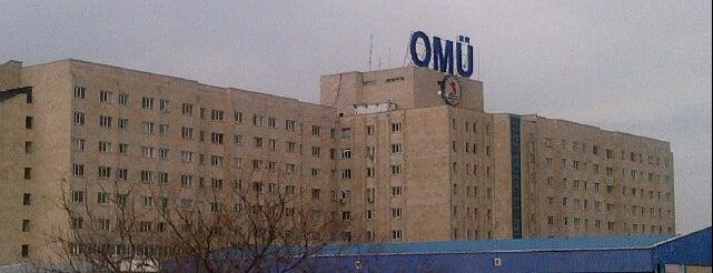 Ondokuz Mayıs Üniversitesi Hastanesi is one of Tempat yang Disukai Fatma.