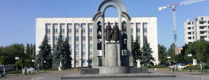 Площа Шевченка is one of Lena : понравившиеся места.