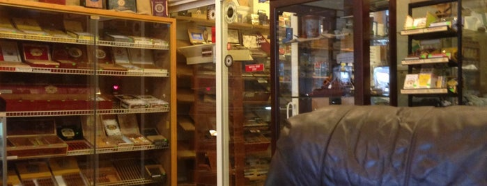 Cville Smoke Shop is one of The Virginia Wine and Cigar Trail.