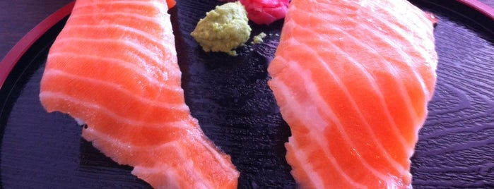 Sushi Plus is one of oh places I've been.....